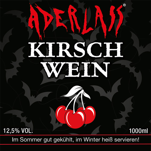 Aderlass Kirschwein 12,5% vol.